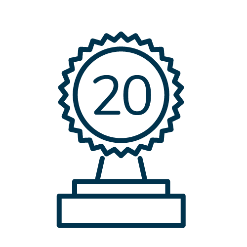 20 Years Award Icon