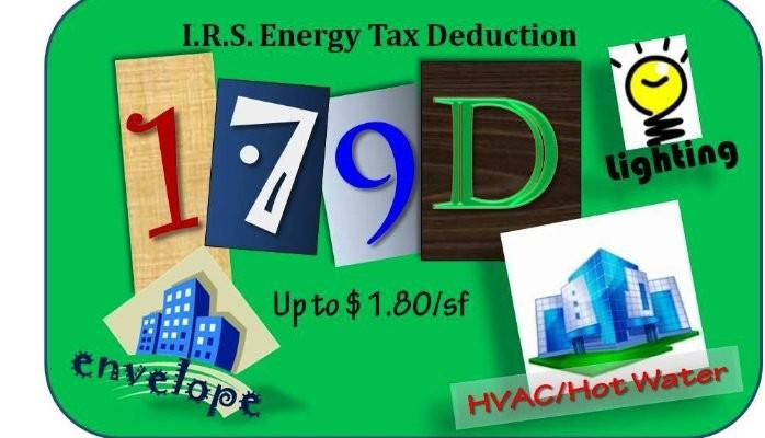 179D | Commercial Building Energy Tax Deduction
