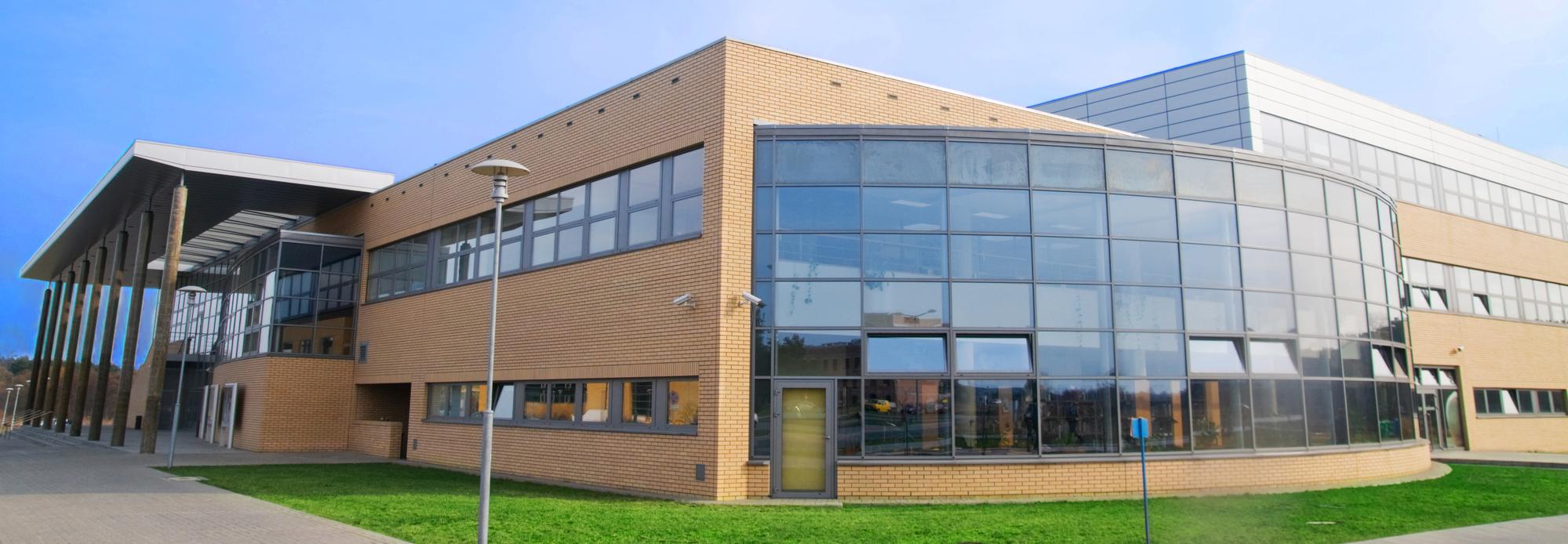 Modern office building